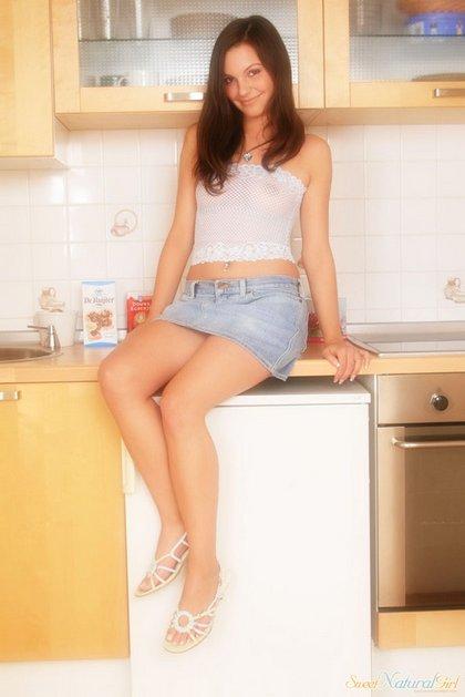 jillian sexy dutch teen jean skirt2
