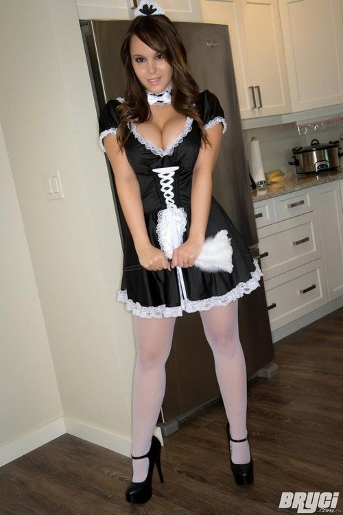 sexy french maid bryci