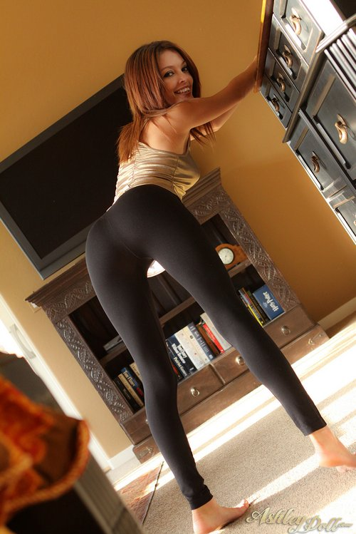 Sexy tight small ass